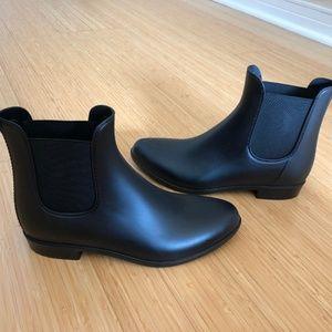 J.Crew Mercantile Chelsea rain boots Size 8